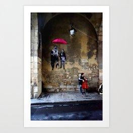 The Celloplayer Art Print