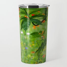 Through the Hedge. Travel Mug