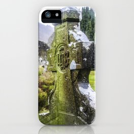 Travel to Ireland: Glendalough's Rest iPhone Case