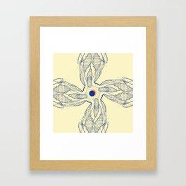 Grandma's secret Framed Art Print