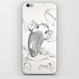 Luring Substance iPhone Skin