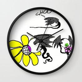 Fleye by Flower Wall Clock