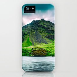 Iceland Mountain iPhone Case