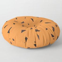 Cheetah confetti terrazzo Floor Pillow