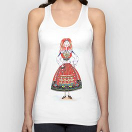 MARIA FROM MINHO, PORTUGAL Unisex Tank Top