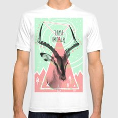 Tame Impala White Mens Fitted Tee LARGE