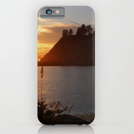 An Amazing Sunset Over First Beach iPhone Case