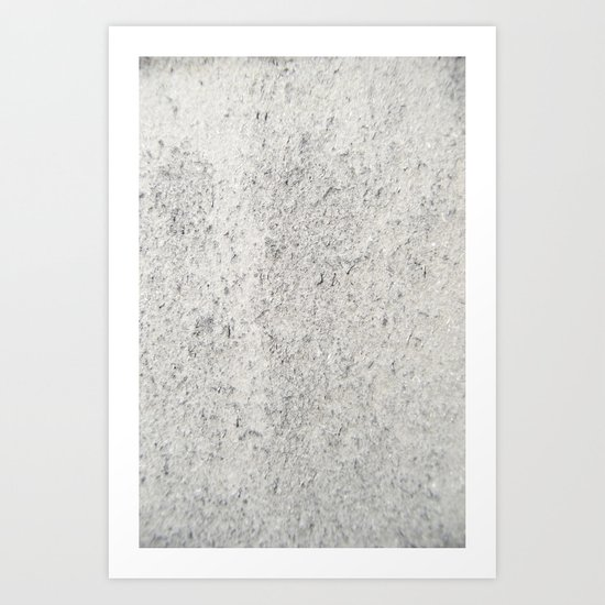 Stubble Art Print