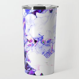 SWEETPEA BLUE/WHITE Travel Mug