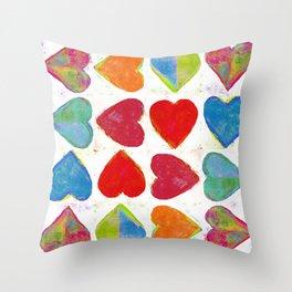 Heartstrings Throw Pillow