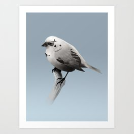 Bird Trooper Art Print