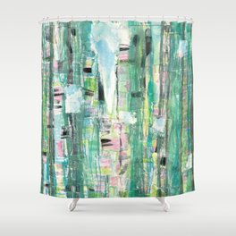 Floridian Trees Shower Curtain