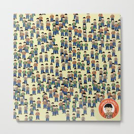 Where's Wong? Metal Print