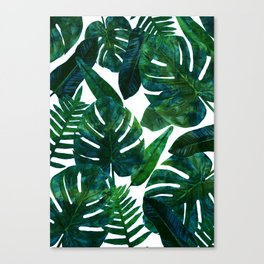 Perceptive Dream || #society6 #tropical #buyart Canvas Print
