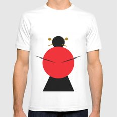 Japanese girl White Mens Fitted Tee MEDIUM