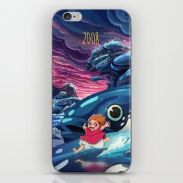 Ponyo iPhone Skin