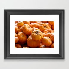 'Lil Pumpkins Framed Art Print