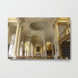 Osgoode Hall Library Metal Print