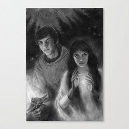 Richard and Kahlan Canvas Print