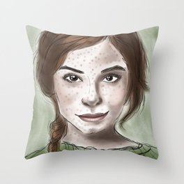 Freckled Throw Pillow