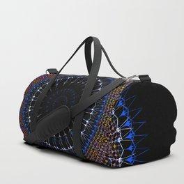 Zen tangle Mandala Duffle Bag