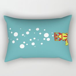Bubblegun Rectangular Pillow
