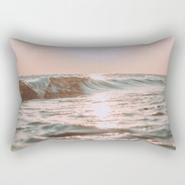 pink skies Rectangular Pillow