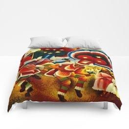 Oaxaca Mexico Vintage Travel Comforters