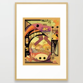 Rent and Nature Framed Art Print