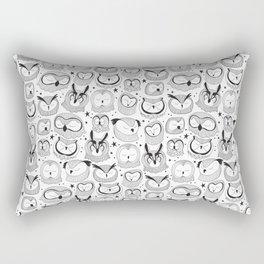 Sleeping Owls Rectangular Pillow