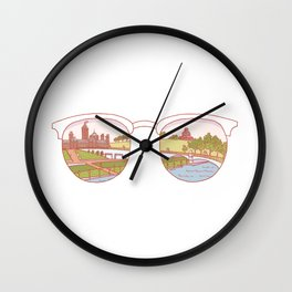 Canadian Sunnies | Ottawa Wall Clock