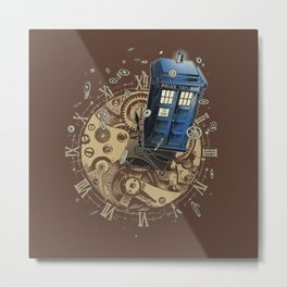 The Doctor?! Metal Print
