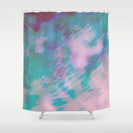 Abstract Motion Shower Curtain