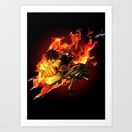 The Dragon Slayer Art Print