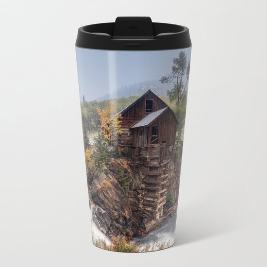 Lake house  Metal Travel Mug