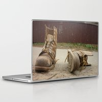 road Laptop & iPad Skins featuring Road by Art Pass