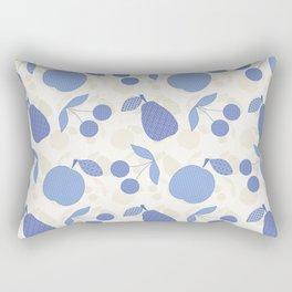 Fruit patchwork. Rectangular Pillow
