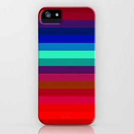 Re-Created Spectrum LIX by Robert S. Lee iPhone Case