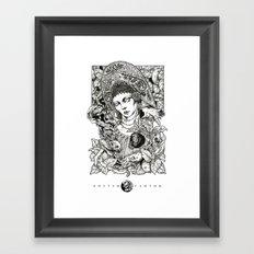 Russian Beauty  Framed Art Print