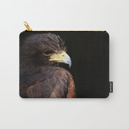 Harris Hawk | Wildife Photography | Bird of Prey | Bird | Raptor | Portrait | Hawk Carry-All Pouch