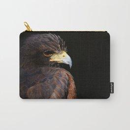 Harris Hawk | Wildife Photography | Bird of Prey | Bird | Raptor | Portrait | Hawk Carry-All Pouch