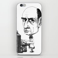 arnold iPhone & iPod Skins featuring Arnold Schoenberg by Gareth Southwell