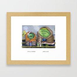 Chilly Pepper & Head Cold Framed Art Print