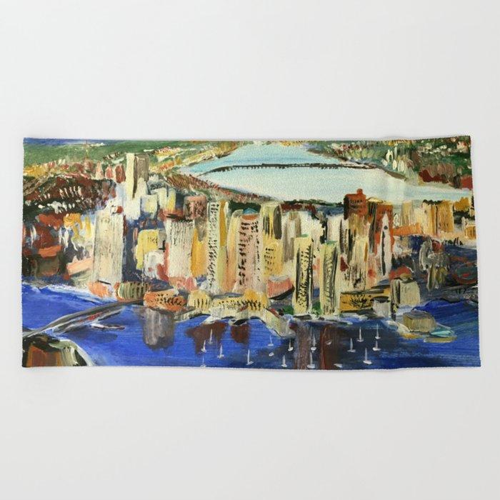 Boston Beach Towel