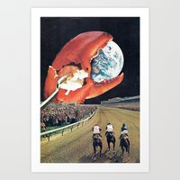 contact Art Prints featuring Contact  by Hugo Barros