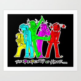 TPoH: Colourful Personality Art Print