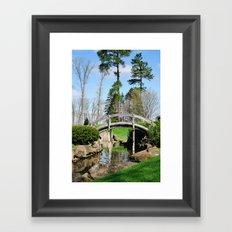 A bridge not too far... Framed Art Print