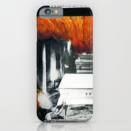 Total Post Mortum Immolation (funeral metal 3) iPhone & iPod Case