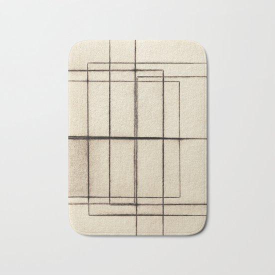 Toner Lines on Paper Bath Mat