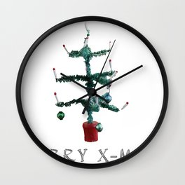 Poor Christmas Wall Clock